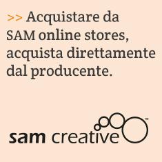 Acquistare da SAM online stores, acquista direttamente dal producente.